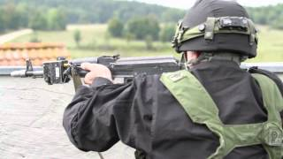 Bulgarian Army trains at 7th Army JMTC Saber Junction 2014, Hohenfels Training Area