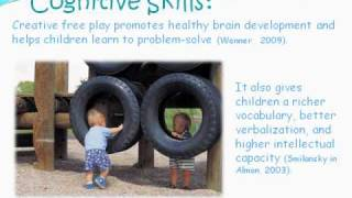 The crucial role of play in early childhood