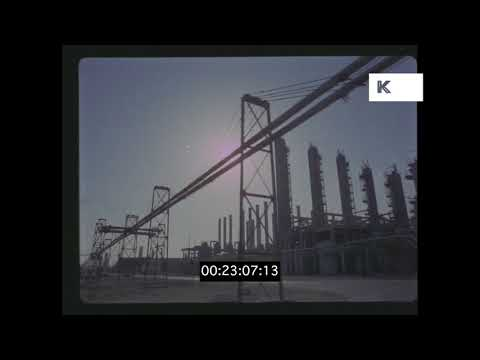 1970s Iran Oil fields, HD from 35mm | Kinolibrary