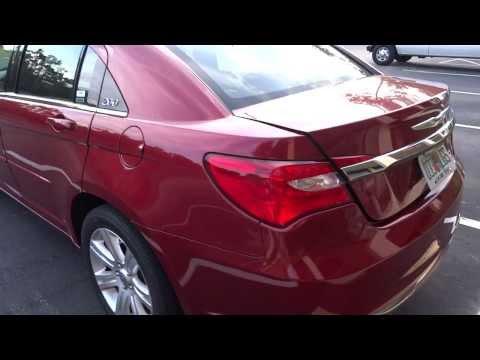 Chrysler 200 From Dollar Rent A Car Orlando, Standard 4 Door Car In HD 1080P