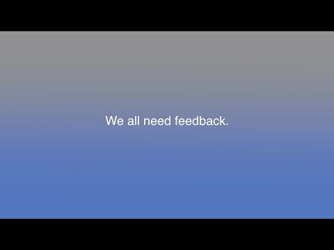 How Do You Like Your Feedback Served?