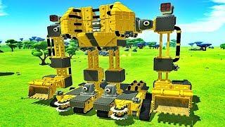 CONSTRUIRE UN ROBOT INCROYABLE ! | TerraTech ! #Ep4