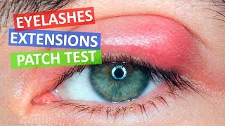 Patch Test - Should I do Patch Testing? Eyelash Extensions 101 - Perfect Eyelashes Products