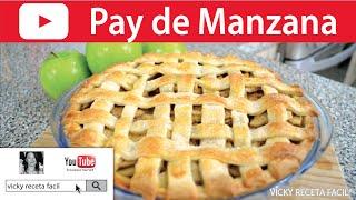 PAY DE MANZANA | Vicky Receta Facil