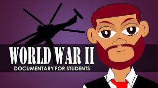 Watch a World War 2 Documentary for Children. World War 2 for Kids in Elementary School Cartoon