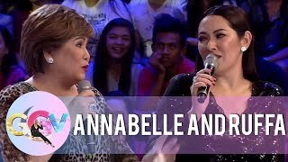 GGV: Annabelle talks about how much Ruffa helped their family