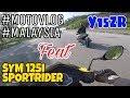 #234 PUSING2 CARI BARANG MOTO SYM feat Y15ZR ||MOTOVLOGMALAYSIA