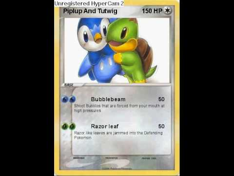 how to make fake pokemon cards on the computer