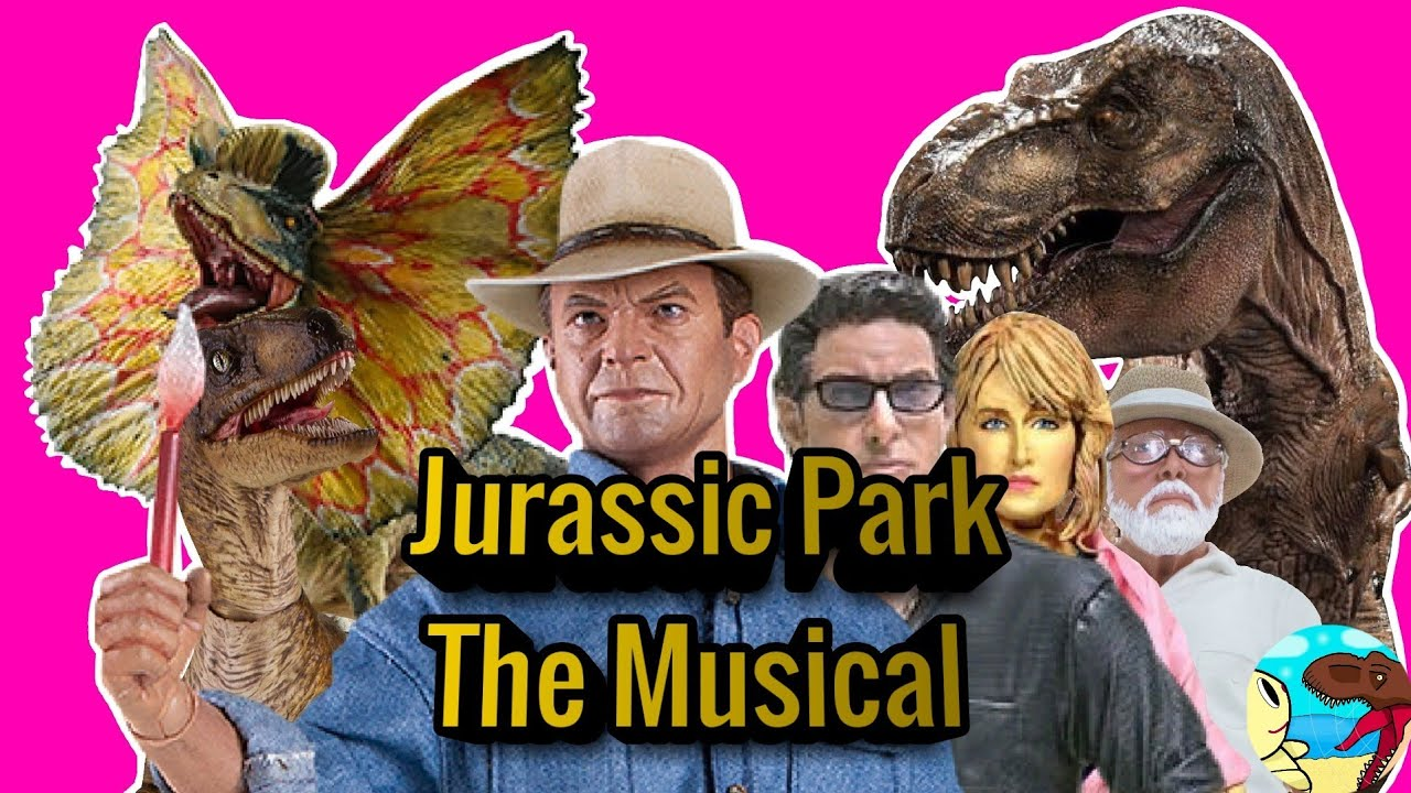Especial +35 k Subs, LHUGUENY Jurassic Park The Musical Remasterized Stop Motion 2.0