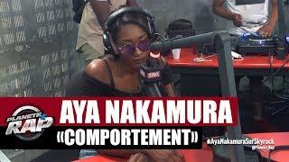 """Aya Nakamura """"Comportement"""" #PlanèteRap"""
