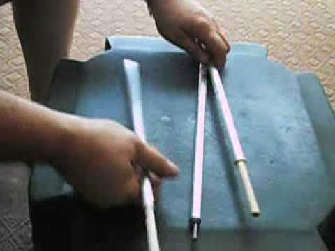 & DIY Replacement Tent pole - YouTube