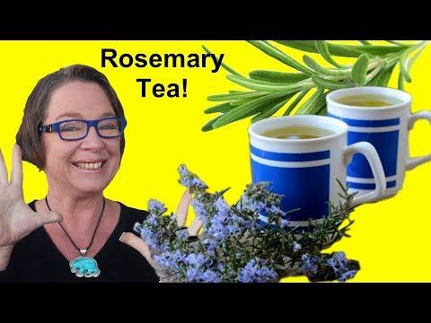 ✅ Rosemary Tea: Sharpen Your Memory!