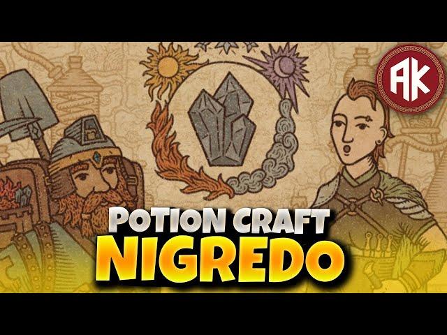 Como Fazer o Nigredo em Potion Craft?!