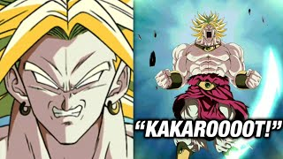 If LR Broly's ACTIVE SKILL Had Voice Acting... | Dokkan Battle