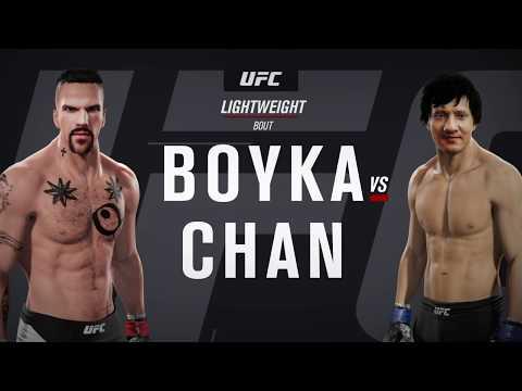 Yuri Boyka vs. Jackie Chan (EA Sports UFC 2)