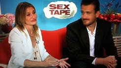 """Sex Tape"": Cameron Diaz talks about her naked butt"