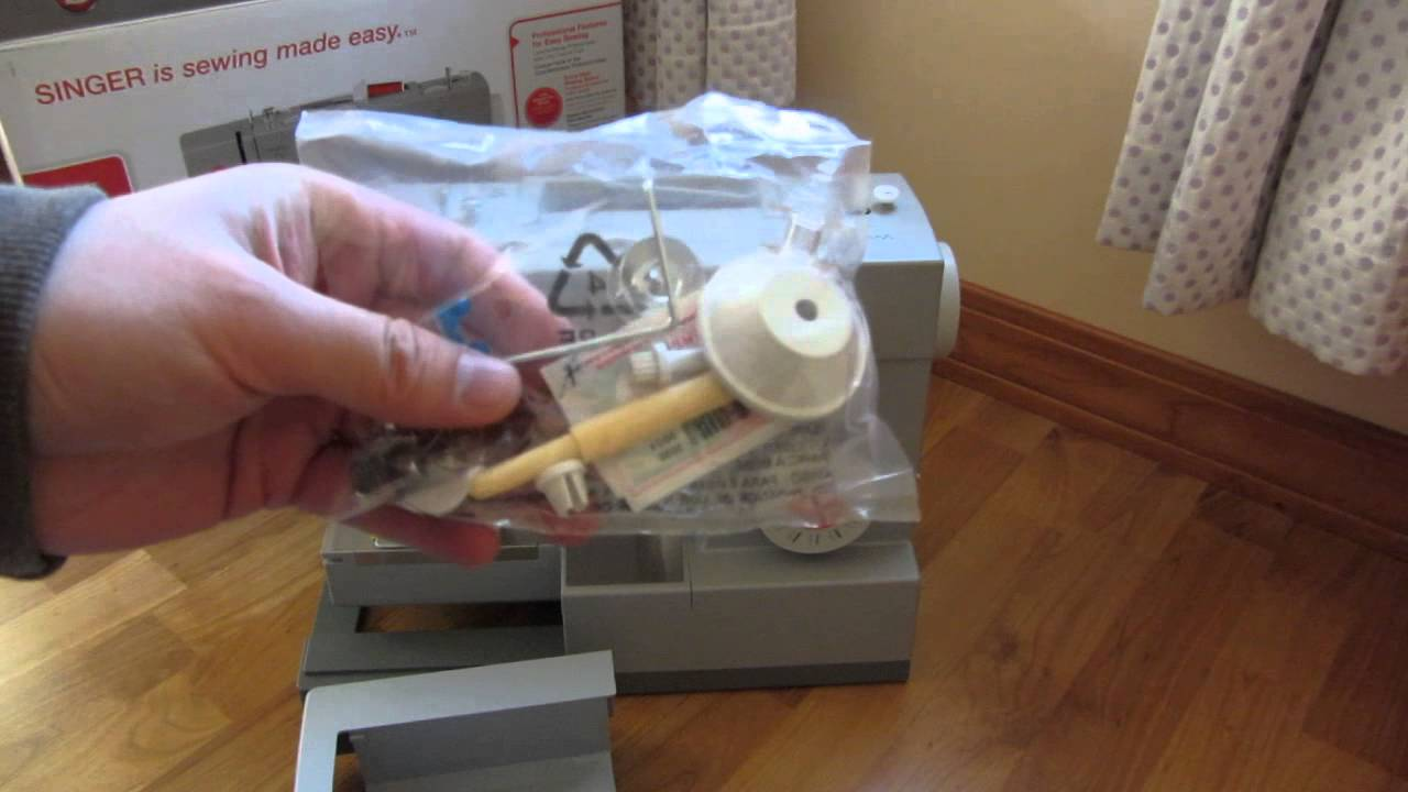 Unboxing Singer 4423 Heavy Duty Sewing Machine And