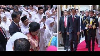 Sambutan Hangat untuk Presiden Jokowi oleh Sultan & Rakyat Brunei Darussalam
