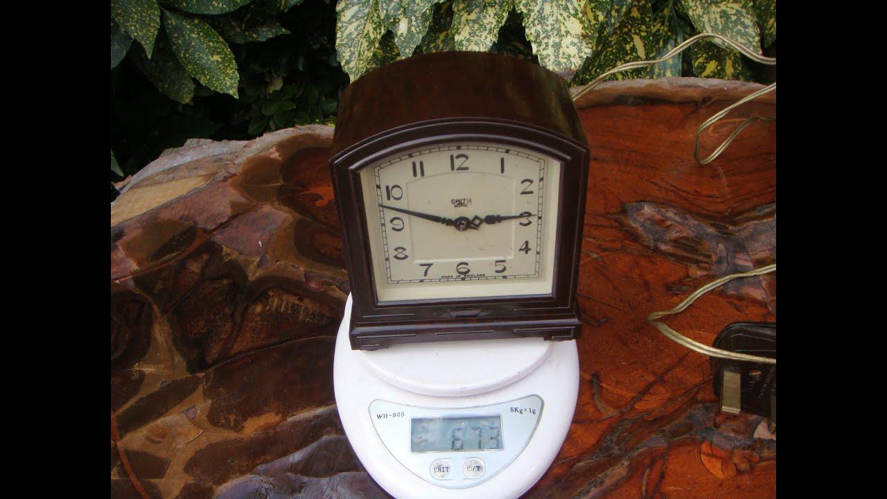 Vintage hammond mantel clock