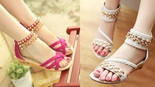 Ladies Summer Flat Sandals 2018