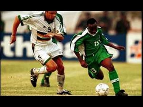 Nigeria v South Africa - African Nations Cup 2000 - Semi Fin