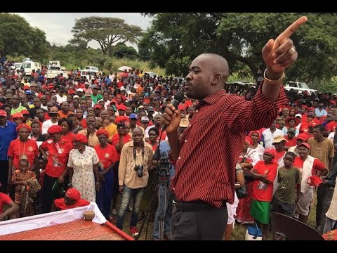 LIVE Early Sights: Nelson Chamisa's SONA, 2020 Mbare