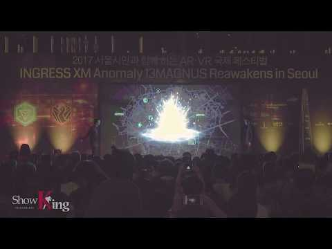 Media Performance : INGRESS XM Anomaly 13 MAGNUS Reawakens in Seoul 미디어퍼포먼스