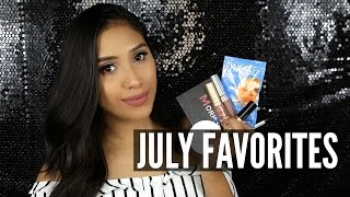 July Monthly Favorites!