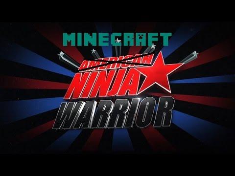 Minecraft Ninja Warrior-Part 1-w/Kaleb-(Parkour master?!?!)