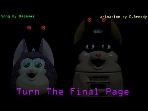 (SFM/Tattletail) Turn The Final Page Song By DAGames (4k SUB Special)