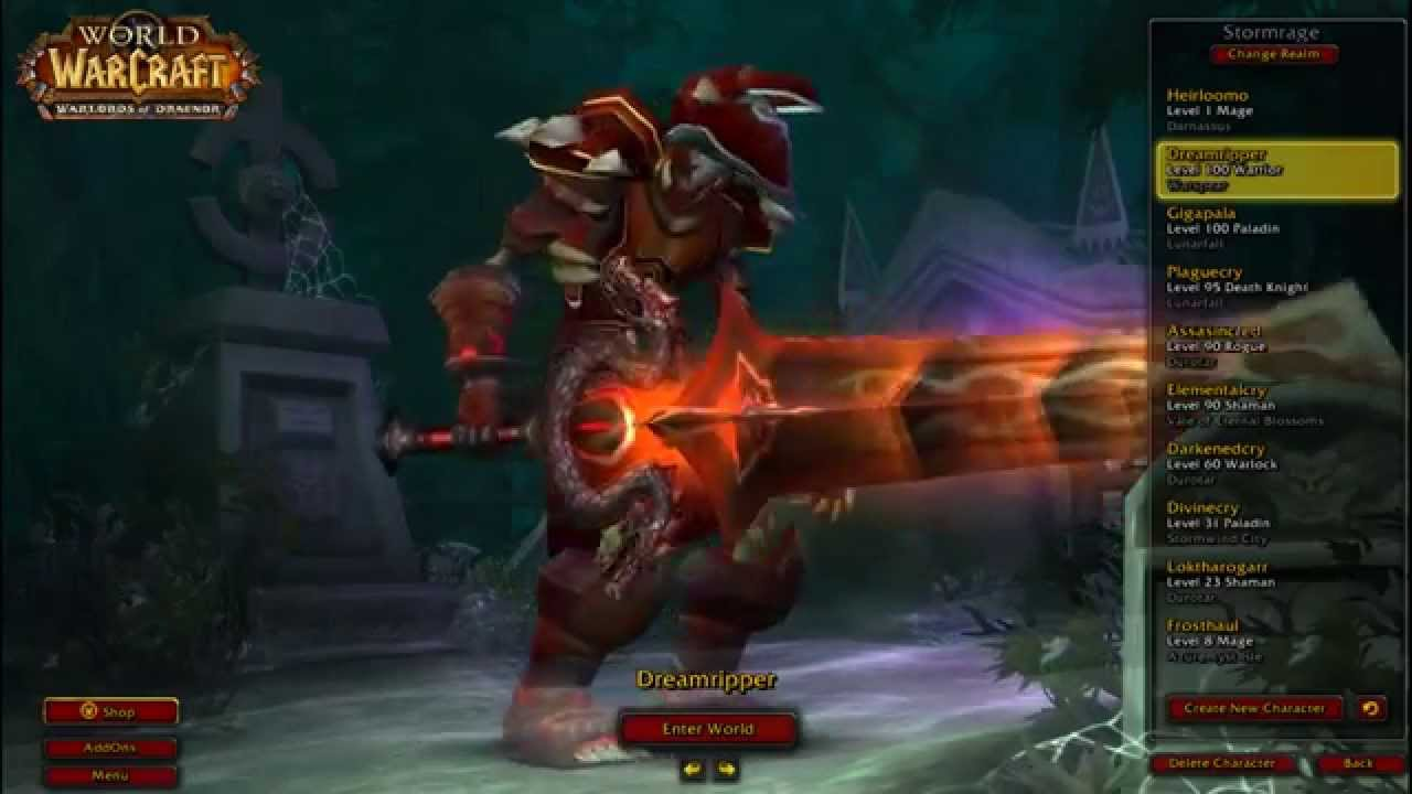 & WoW-plate transmog list- - YouTube
