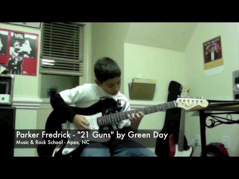 """21 Guns"" - Parker Fredrick at Music & Rock School"