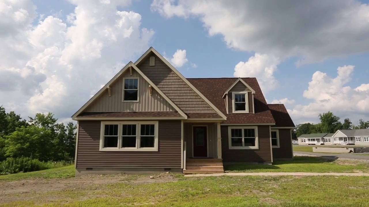 Amherst modular home by new era youtube - What is a modular home ...