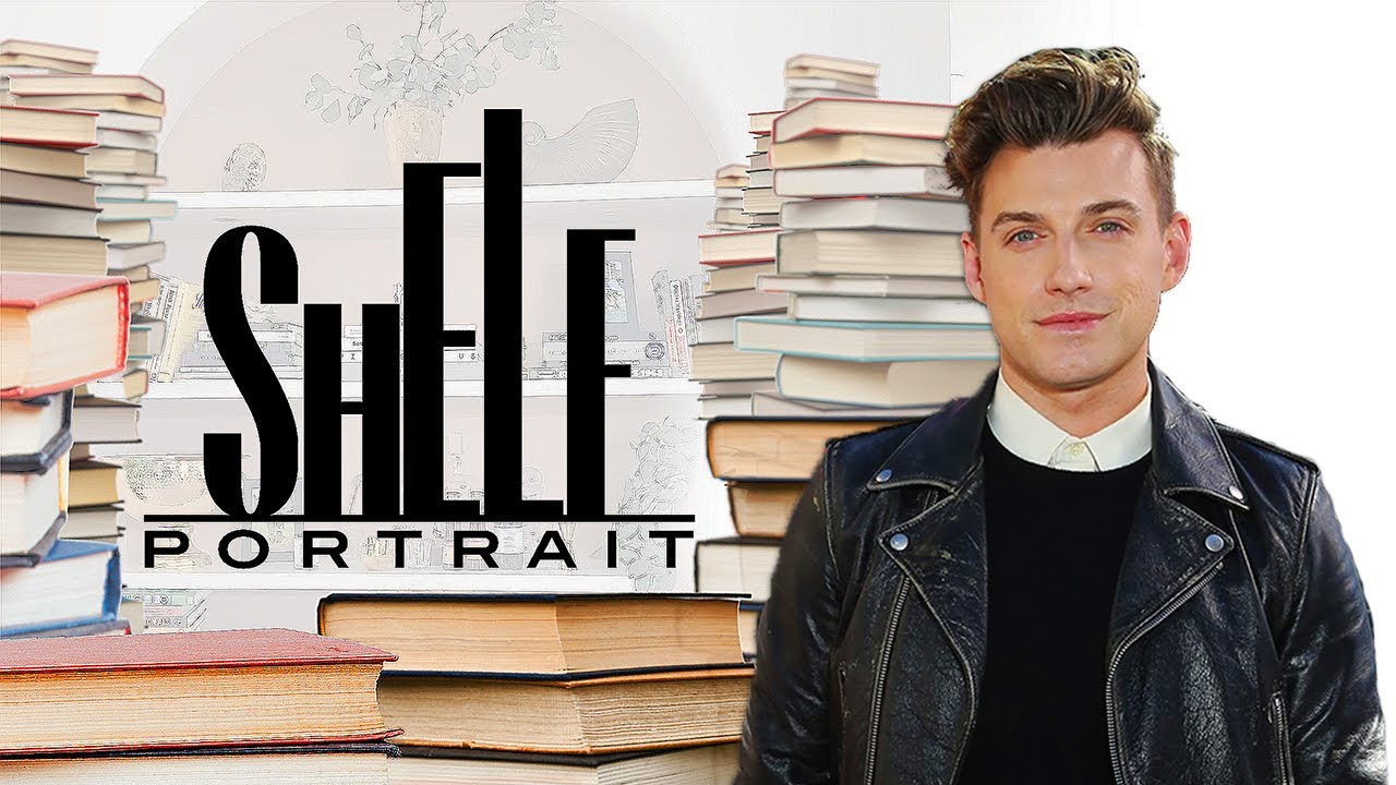 Take a Tour of Jeremiah Brent's Chic Personal Library | Shelf Portrait | Marie Claire