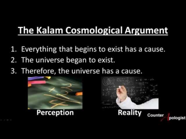 kalam cosmological argument 2 essay