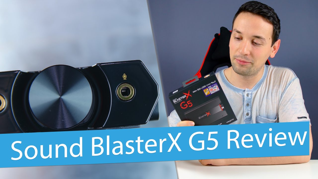 SOUND BLASTERX G5 Review - Portable Sound Card with Headphone Amplifier