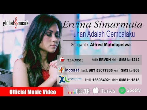 Ervina Simarmata - Tuhan Adalah Gembalaku (Official Music Video)