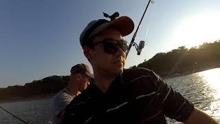 Рыбалка с лодки в черном море морская лиса ставрида