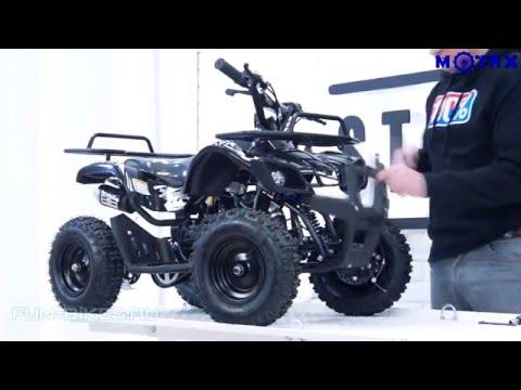 Детский квадроцикл MOTAX ATV Х-16 Обзор и сборка