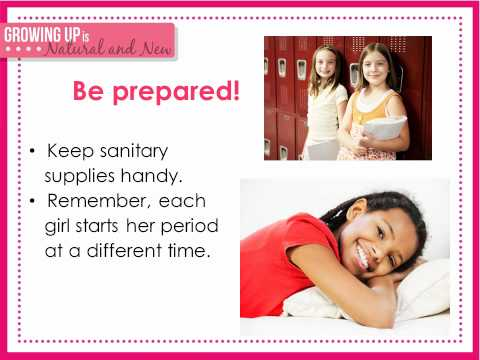 GIRLS MATURATION POWERPOINT autoplay video 03062012