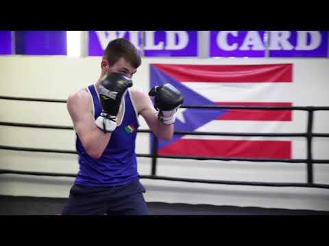 Aaron Mckenna Media Workout. Top Irish Prospect set to make his pro debut at Madison Square Garden