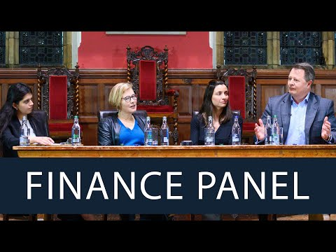 The Future of Finance | Full Panel Discussion | Oxford Union