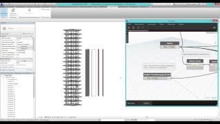 Разрезание стен и колонн разного типа по уровням Revit Dynamo