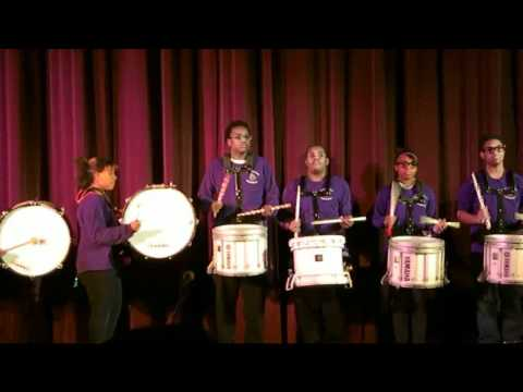 Lincoln Middle School of the Arts Drum Line Milwaukee, WI 12-16-10B