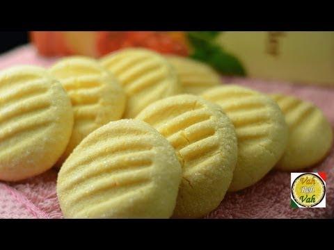 Custard Cookies  - By Vahchef @ vahrehvah.com