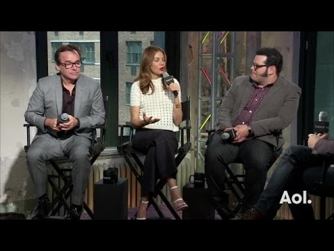 "Josh Gad, Chris Columbus and Michelle Monaghan on ""Pixels"""