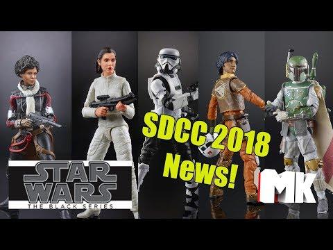 Star Wars The Black Series SDCC 2018 News