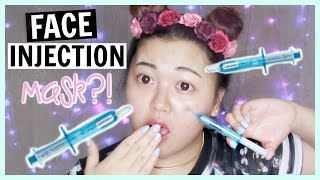 Oozoo Face Injection Mask Hydro Lift | First Impression