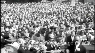 JFK and Nixon - Meet Your Candidates  - 1960 Campaign for President newsreel archival footage
