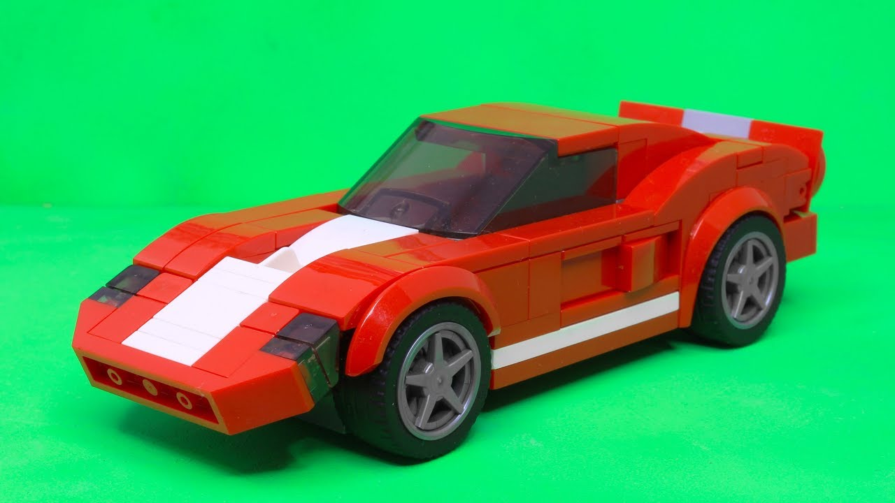 lego speed champions ford gt 2005 moc youtube. Black Bedroom Furniture Sets. Home Design Ideas